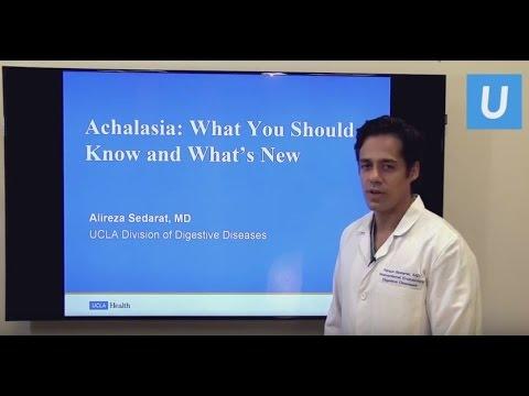 Achalasia: What You Need to Know - Alireza Sedarat, MD   UCLAMDCHAT Webinars