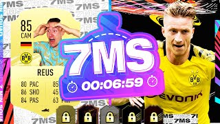1M+ COIN PLAYER ON THE LINE!!! REUS VS @REEV 7 MINUTE SQUAD BUILDER - FIFA 21 ULTIMATE TEAM