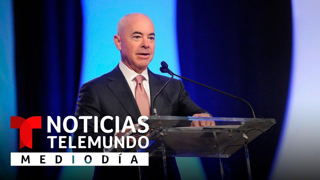 Mayorkas habla de sus planes con la Administración Biden   Noticias Telemundo