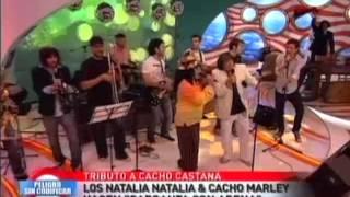 Los Natalia Natalia, Cacho Marley & Cacho Castaña - Garganta con arena-