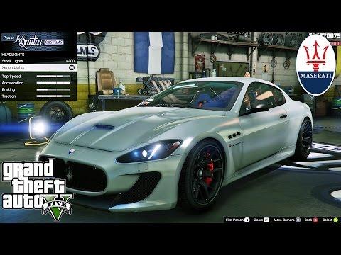 Maserati GT GTA V car mod tuning !! [ Soley911 ]