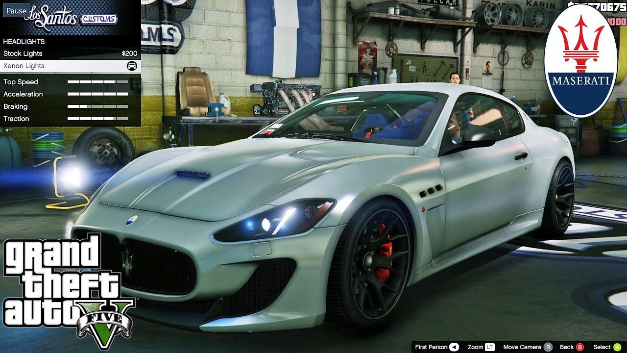 Maserati Gt Gta V Car Mod Tuning Soley911 Youtube