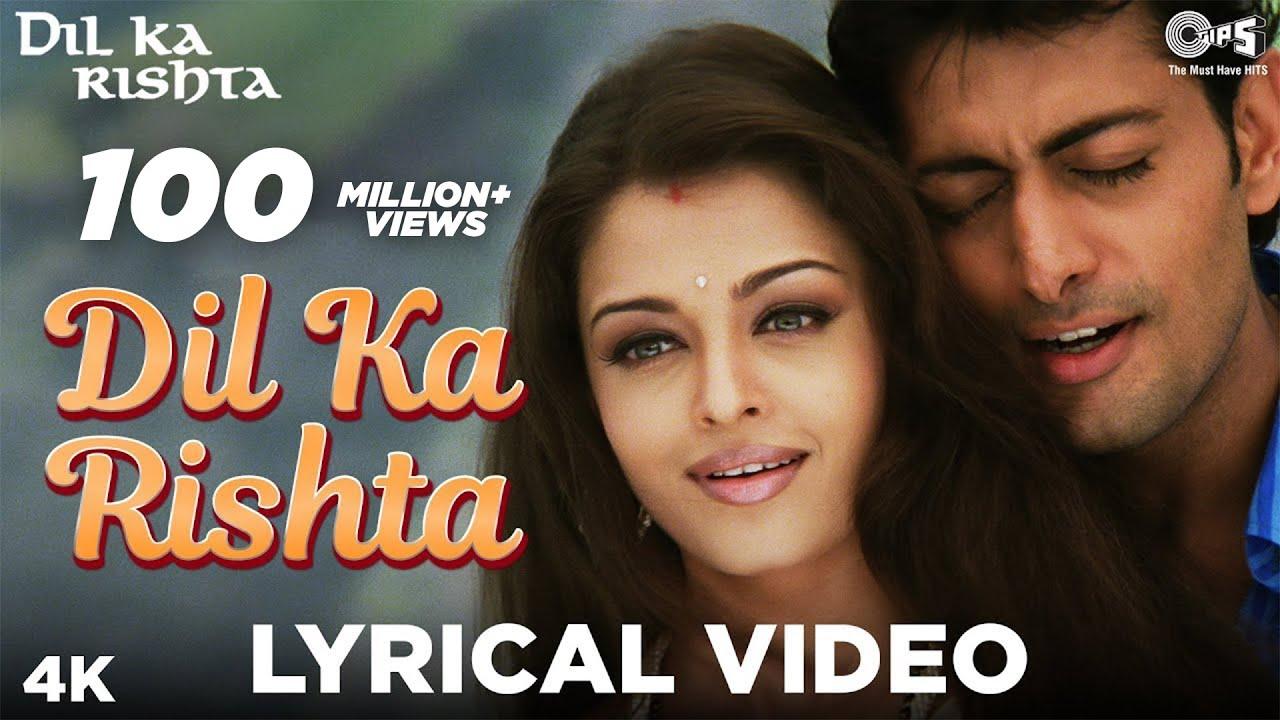 Download Dil Ka Rishta Lyrical - Dil Ka Rishta   Aishwariya Rai, Arjun Rampal, Priyanshu   Alka, Udit, Kumar