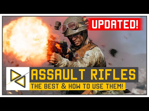 [BF5] UPDATED Assault Rifle Guide - The BEST BFV Assault Weapons - Breda PG, STG-44 & MORE!
