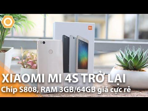 Купить смартфон Xiaomi Mi4s цена в интернет магазине