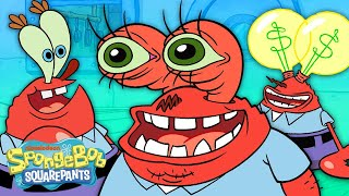 Every Time Mr. Krabs' Eyes Pop Out, Explode, or Transform  👀 | SpongeBob