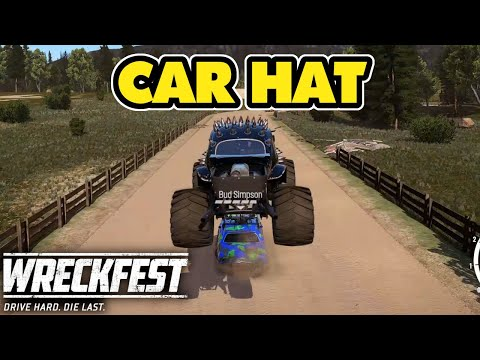 Car Hat On Bud Simpson With A Bugzilla! Wreckfest Ep115 Online Multiplayer