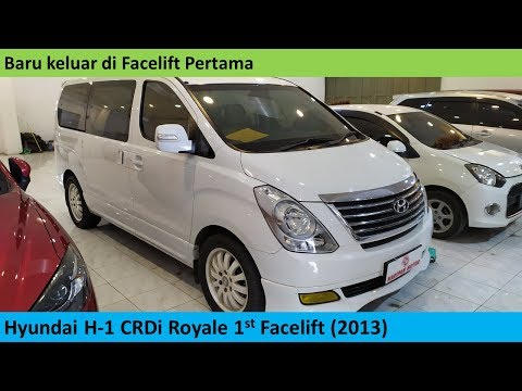 Hyundai H-1 Royale CRDi 1st Facelift (2013) Review - Indonesia