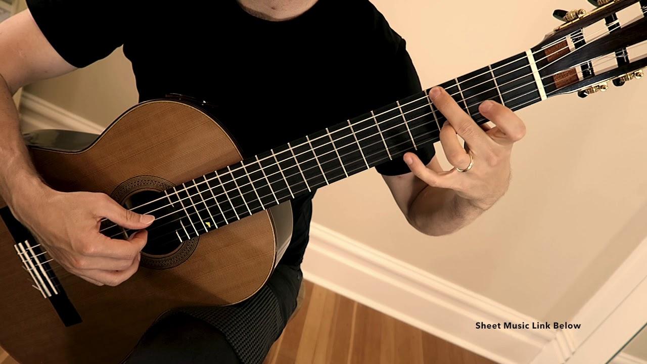 O Come O Come Emmanuel Easy Fingerstyle Guitar