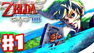 The Legend of Zelda: Skyward Sword HD - Gameplay Part 1 - Wing Ceremony and Fi! (Nintendo Switch)