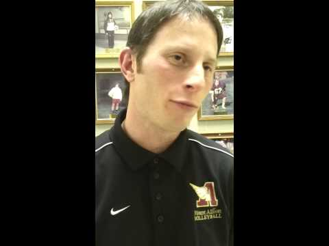 Final Mt. A home game interview head coach Andrew Kennedy