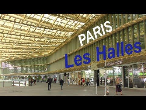 Paris NEW FORUM LES HALLES - La Canopée - Berger-Anziutti architectes