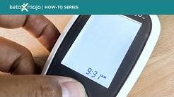 Quick-Start Settings for the Keto-Mojo Blood Ketone & Glucose Meter