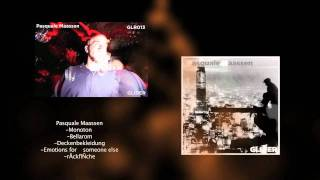 GLR 013 Pasquale Maassen  Glider Records