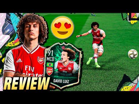 David Luiz (91), El Gullit De La Premier   Review Metamorfos/ShapeShifters