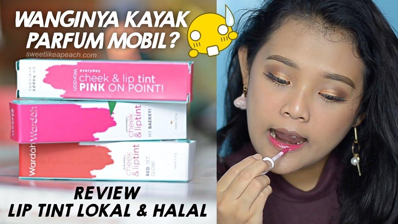 Review Swatches Wardah Everyday Cheek Lip Tint Almiranti Fira Liptint New