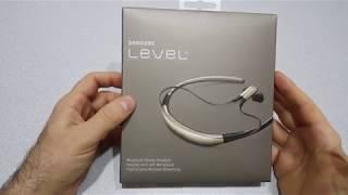 Samsung Level U Bluetooth Kulaklık Altın Renk Kutu Açılışı ve İnceleme