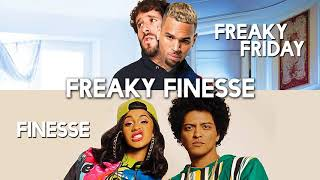 Baixar Freaky Friday vs. Finesse (MASHUP) Lil Dicky, Chris Brown, Bruno Mars