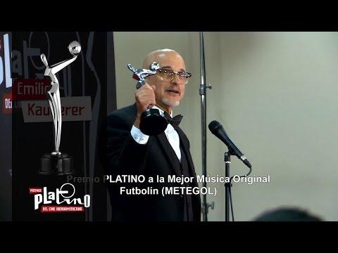 Premios PLATINO - Emilio Kauderer - Mejor Música Original por Futbolin