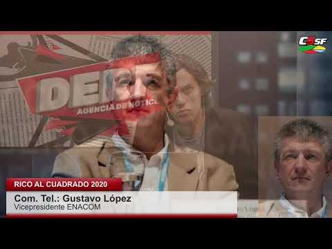 Gustavo López: La comunicación es un derecho humano básico