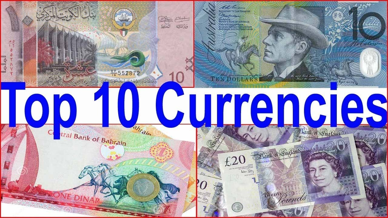 Top 10 Valuable Currencies In The World