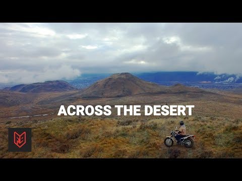 Crossing Canada's Only Desert on a Yamaha TW200 - 2018 Review