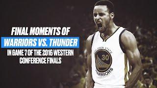 Final Moments Of Warriors vs. Thunder Game 7 | 2016 NBA Playoffs Rewind