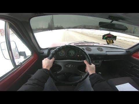 1992 LADA 4x4 Нива POV TEST DRIVE