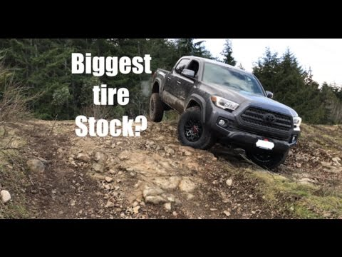 Fitting 33's Stock! | 2017 Tacoma TRD OffRoad Build