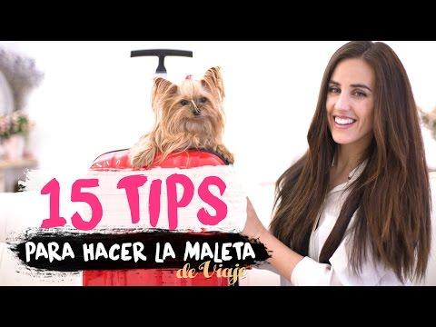 15 TIPS   Cómo preparar la maleta de viaje   Packing hacks
