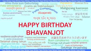 Bhavanjot   Languages Idiomas - Happy Birthday