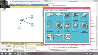 5.2.2.7 - 2.2.4.9 Packet Tracer - Configuring Switch Port Security