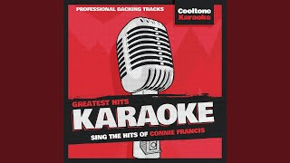For Mama (Originally Performed by Connie Francis) (Karaoke Version)