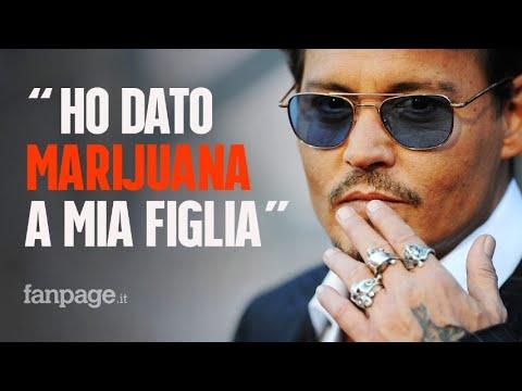 """Johnny Depp in tribunale: """"Ho dato marijuana a mia figlia Lily-Rose quando aveva 13 anni"""""""