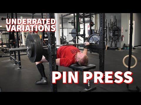 Bench Variations: Pin Press