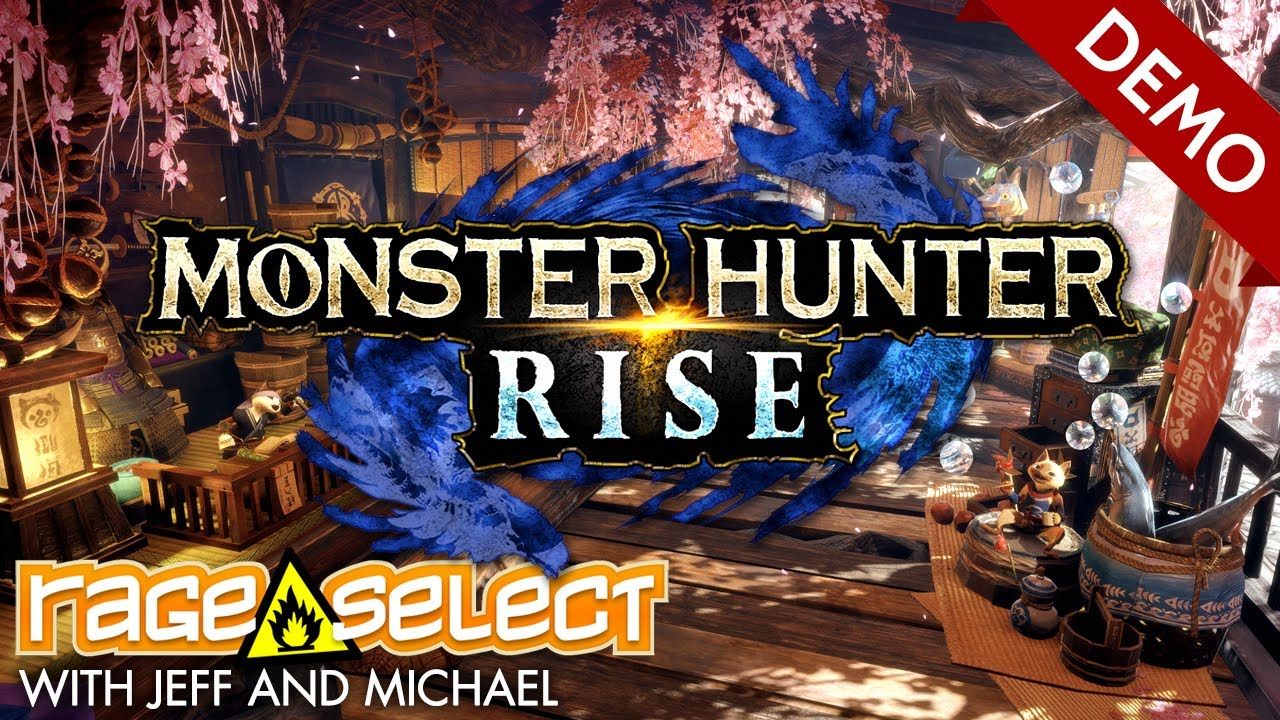Monster Hunter Rise: Demo (The Dojo) Let's Play