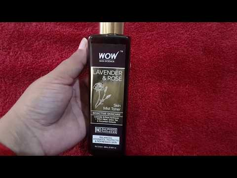 WOW Lavender And Rose Toner Honest Review !!!!!!