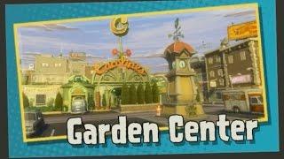 Растения против Зомби: Садовая Война - 4 Garden Center - Защищаем сад как можем
