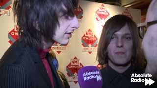 The Horrors talk to Pete Donaldson at the NME Awards 2014
