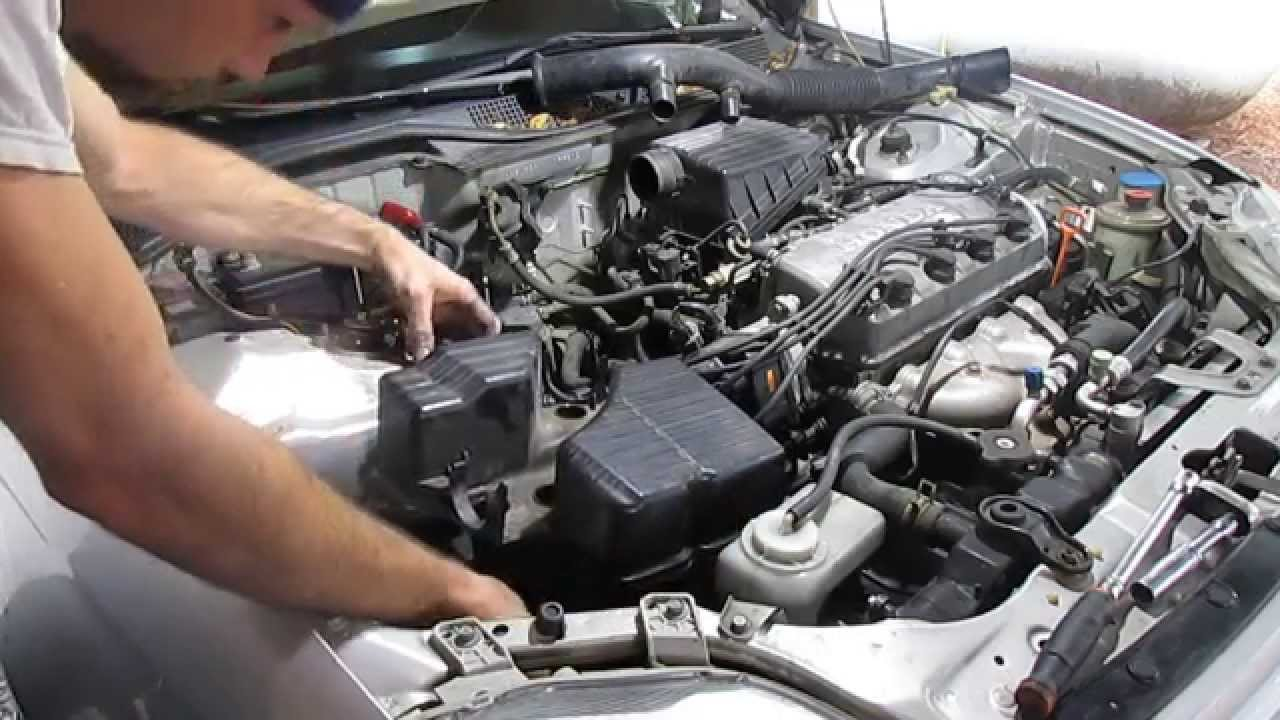 Starter Replacement And Testing HOW TO 1999 Honda Civic 16