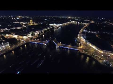 Saint Petersburg night :: DJI Phantom 4