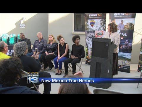 Governor announces 2017 New Mexico True Hero award winners