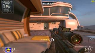 Black Ops 2: 1v1 Only Sniper PC Gameplay on Hijacked (HUN)