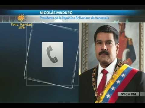 Presidente Maduro entrevistado en Radio Miraflores por Esther Quiaro y Ernesto Villegas