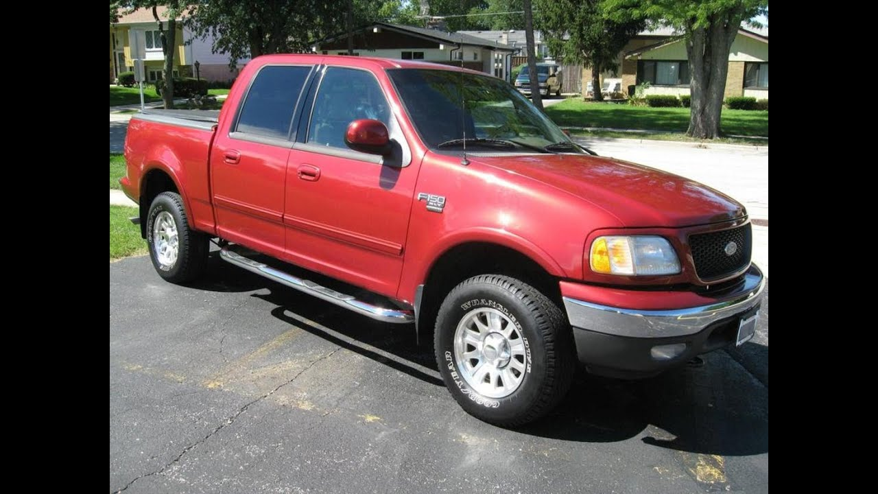 2002 ford f 150 xlt supercrew 4x4 for sale on ebay youtube. Black Bedroom Furniture Sets. Home Design Ideas