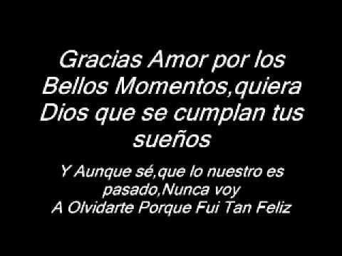 Gracias Amor - Orquesta Mateca�a