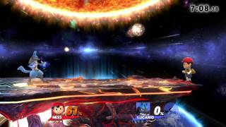 SSB4 BI Tourney Match Eriko vs. Wake