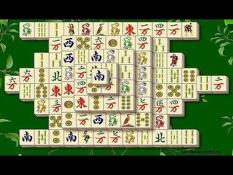 Обзор игры Маджонг