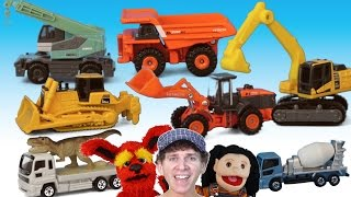 What Do You See? Song | Construction Vehicles | Learn English Kids