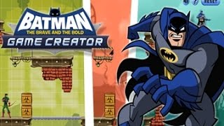 Batman: The Brave and the Bold Game Creator - Cartoon Network Games